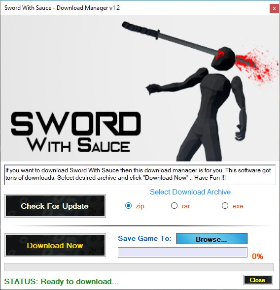 Sword With Sauce Download Manager