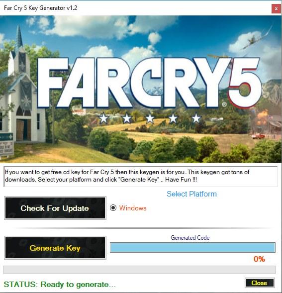 Far Cry 5 key generator download