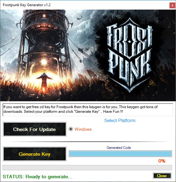 Frostpunk Key Generator Download