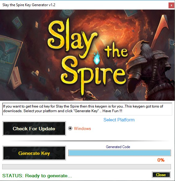 Slay the Spire Key Generator Download