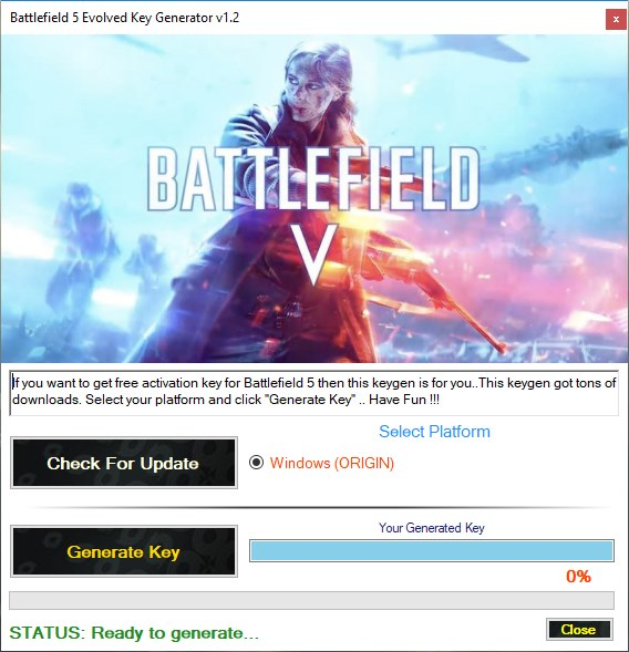 Download Battlefield 5 Beta Key Generator