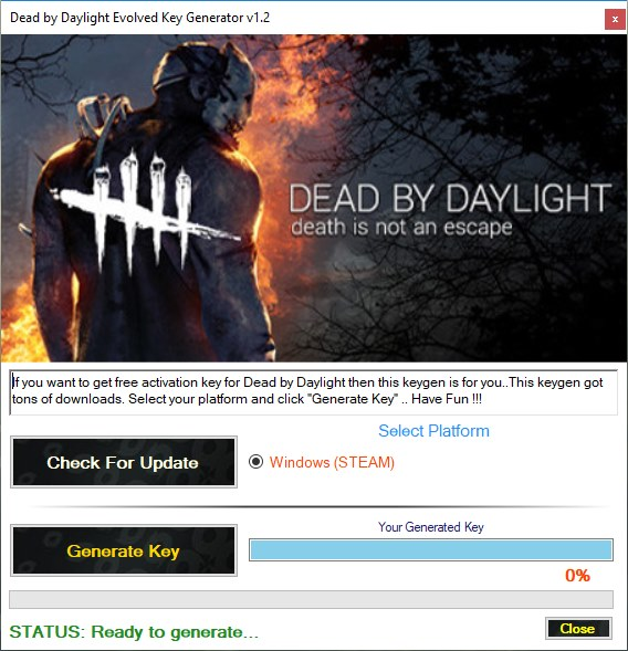 Dead by Daylight Key Generator Download