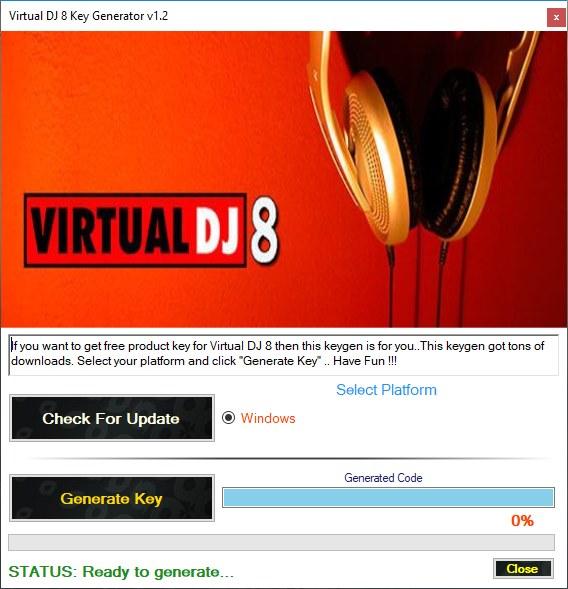 Virtual DJ 8 Activation Key Generator Download Free