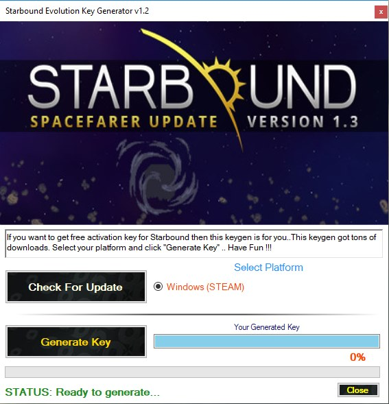 Starbound Product Key Generator Download