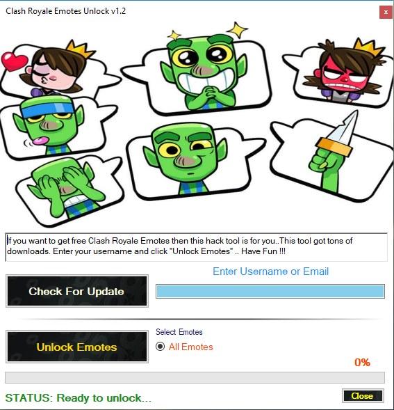 Clash Royale Emotes Adder Download Free