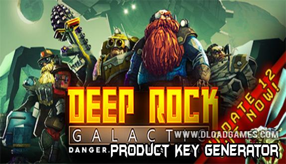 Deep Rock Galactic free steam keygen