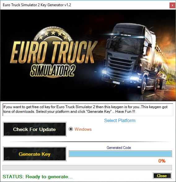 Euro Truck Simulator 2 Activation Key Generator Download